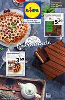 Catalogue Lidl en cours, Pause gourmande , Page 1