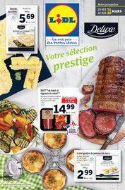 Catalogue Lidl en cours, Votre sélection prestige !, Page 1