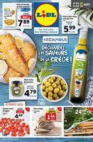 Catalogue Lidl en cours, Découvrez les saveurs de la Grèce, Page 1
