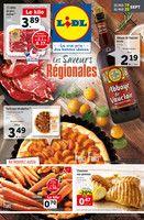 Catalogue Lidl en cours, Les saveurs régionales, Page 1